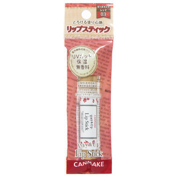 Canmake - Day & UV Lip Stick SPF 14 PA+ (#03 Red) 1 pc