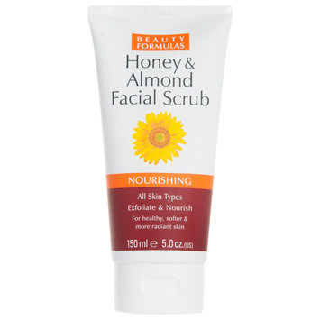Beauty Formulas - Honey and Alomnd Facial Scrub 150ml/5oz