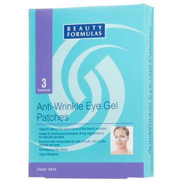 Beauty Formulas - Anti-Wrinkle Eye Gel Patches 3 treatments