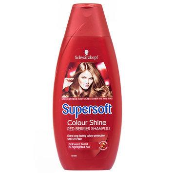 Schwarzkopf Supersoft Colour Shine Red Berries Shampoo 400ml