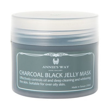 Annie's Way - Charcoal Black Jelly Mask 250ml