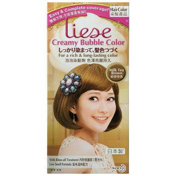 Kao - Liese Creamy Bubble Hair Color (Milk Tea Brown) 1 set