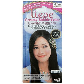 Kao - Liese Creamy Bubble Hair Color (Natural Black) 1 set