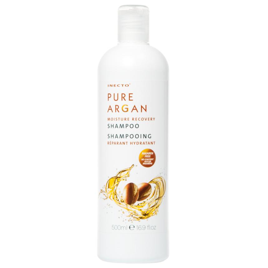 INECTO - Pure Argan Moisture Recovery Shampoo 500ml/16.9oz