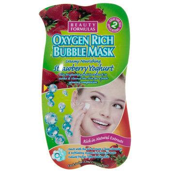 Beauty Formulas - Strawberry Yoghurt Oxygen Rich Bubble Mask 5 pcs