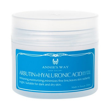 Annie's Way - Arbutin + Hyaluronic Acid Brighting Jelly Mask 250ml