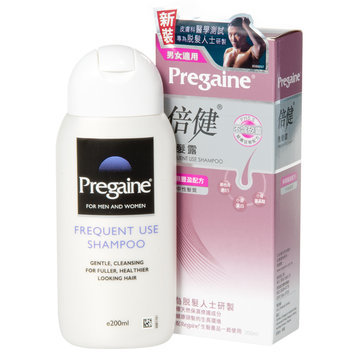 Pregaine - Frequent Use Shampoo (for normal to dry hair types) (Purple) 200ml