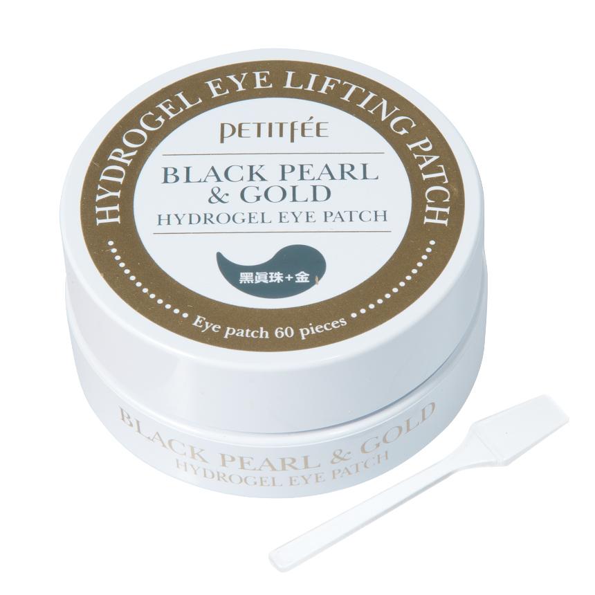 Petitfee - Black Pearl & Gold Hydrogel Eye Patch 60 pcs