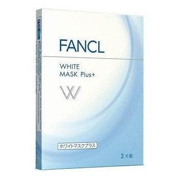 Fancl - White Mask Plus+ 3 sheets