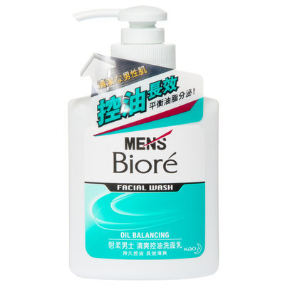 Kao - Biore Men's Facial Wash Oil Balancing 150ml