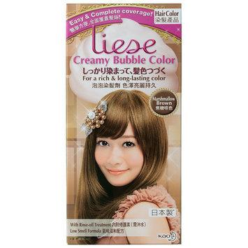 Kao - Liese Creamy Bubble Hair Color (Marshmallow Brown) 1 set