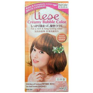 Kao - Liese Creamy Bubble Hair Color (Sweet Apricot) 1 set
