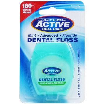 Beauty Formulas - Mint Advanced Fluoride Dental Floss 100 metres