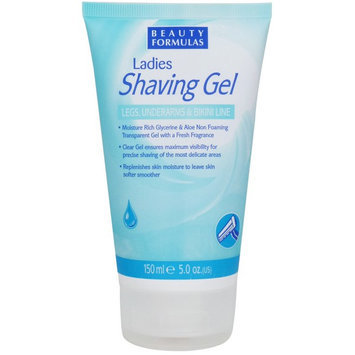 Beauty Formulas - Ladies Shaving Gel 150ml/5oz