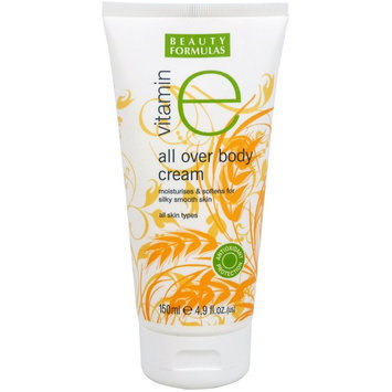 Beauty Formulas - Vitamin E All Over Body Cream 150ml/4.9oz