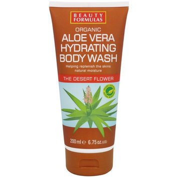 Beauty Formulas - Organic Aloe Vera Body Wash 200ml/6.75oz