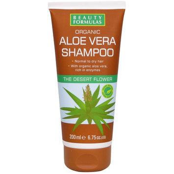 Beauty Formulas - Organic Aloe Vera Shampoo 200ml/6.75oz
