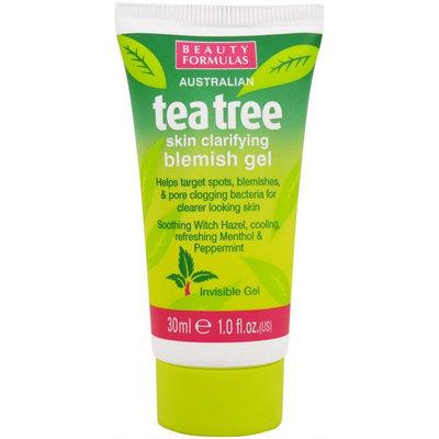 Beauty Formulas - Tea Tree Skin Clarifying Blemish Gel 30ml/1oz