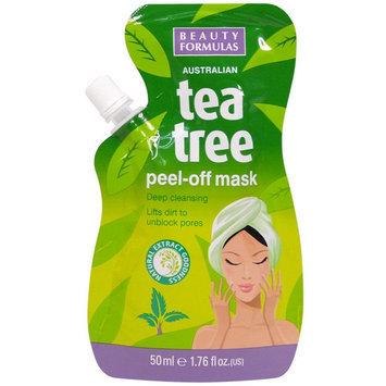 Beauty Formulas - Tea Tree Peel-Off Mask 50ml/1.76oz