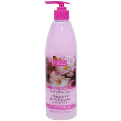 Beauty Formulas - Cherry Blossom and Vitamin E Hand Wash 600ml/20.29oz
