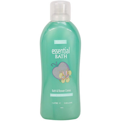 Beauty Formulas - Apple and Honeysuckle Bath and Shower Cr me 1 Litre/33.8oz