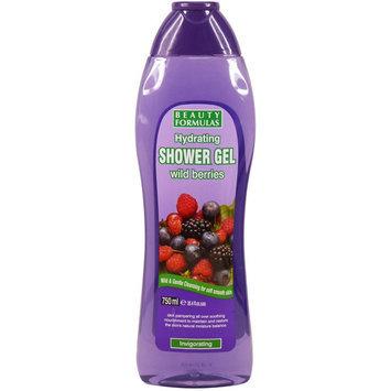 Beauty Formulas - Hydrating Wild Berries Shower Gel 750ml/25.4oz