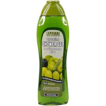 Beauty Formulas - Hydrating Mediterranean Olive Shower Gel 750ml/25.4oz