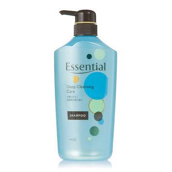 Kao - Essential Deep Cleansing Care Shampoo (Blue) 750ml