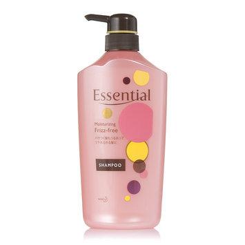 Kao - Essential Moisturizing Frizz Free Shampoo (Pink) 750ml