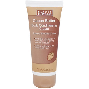 Beauty Formulas - Cocoa Butter Body Conditioning Cream 100ml/3.3oz