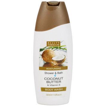 Beauty Formulas - Coconut Butter and Vitamin E Body Wash 350ml/11.8oz
