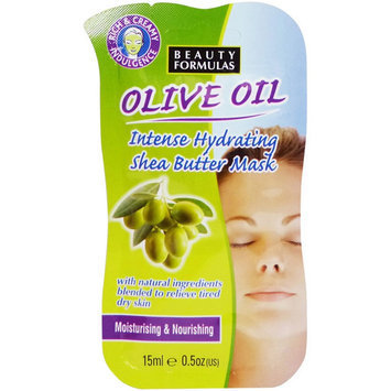 Beauty Formulas - Olive Oil Intense Hydrating Shea Butter Mask 15ml/0.5oz