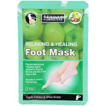 Beauty Formulas - Relaxing and Healing Foot Mask 1 pair