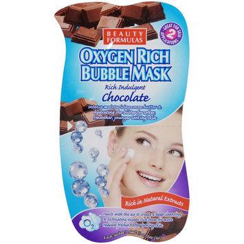 Beauty Formulas - Oxygen Rich Bubble Mask (Chocolate) 1 pack