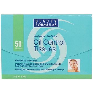 Beauty Formulas - Oil Control Tissues 50 pcs
