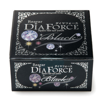 DiaForce - Rearar Hydro-Gel Eye Patch (Black) 60 sheets