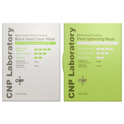 CNP Laboratory - Anti-Pore Black Head Clear Kit 10 pairs