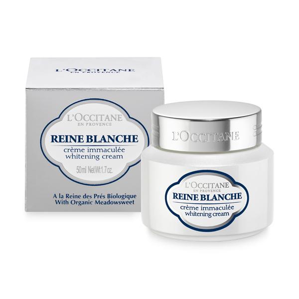 L'occitane En Provence Reine Blanche Whitening Cream 50 ml