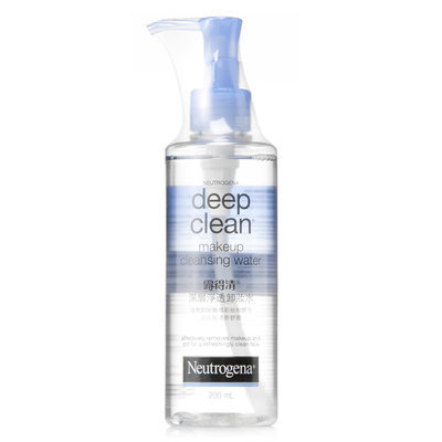 Neutrogena® Deep Clean Makeup Cleansing Water