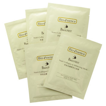 Bio Essence Bio-Essence - Bird's Nest Nutri-Collagen and Whitening Mask 5 sheets