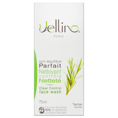 Vellino - Clear Control Tea Tree Face Wash (Tea Tree) 75ml