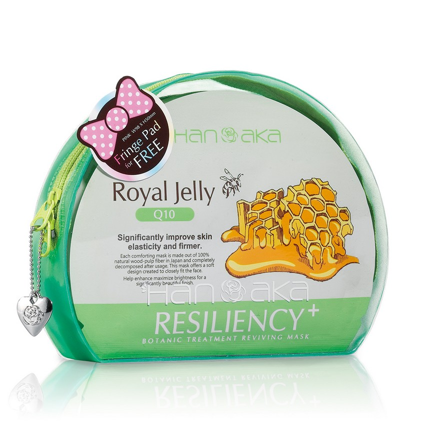 HANAKA - Botanic Treatment Reviving Mask (Royal Jelly + Q10) 5 pcs