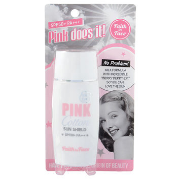 Faith in Face - Pink Cotton Sun Shield SPF 50+ PA+++ 50ml/1.6oz