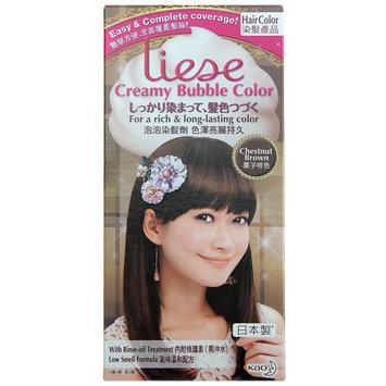 Kao - Liese Creamy Bubble Hair Color (Chestnut Brown) 1 set