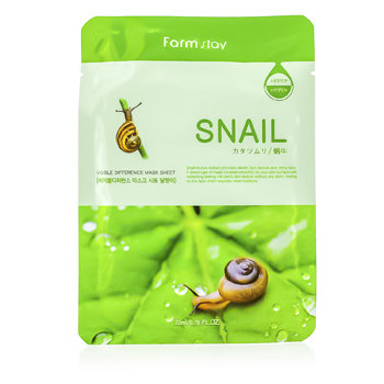 Farm Stay Visible Difference Mask Sheet - Snail - 10x23ml/0.78oz