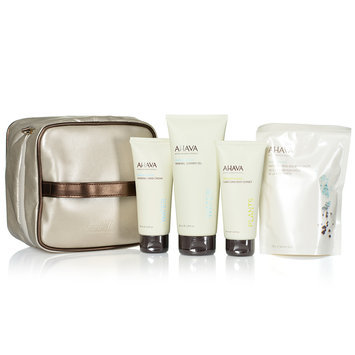 AHAVA - Starshine Body Delights: Body Sorbet 100ml + Hand Cream 100ml + Shower Gel 200ml + Bath Salts 250g + Bag (Limited Edition) 5 pcs