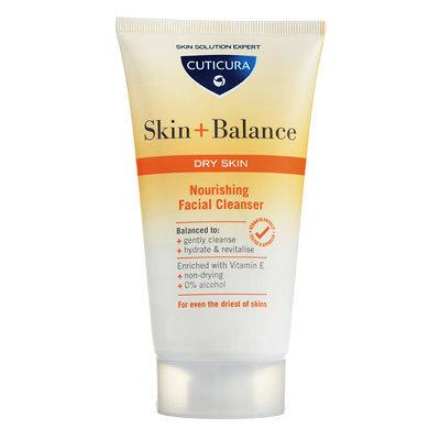 Cuticura - Skin + Balance Nourishing Facial Cleanser (Dry Skin) 150ml