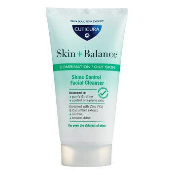 Cuticura - Skin + Balance Shine Control Facial Cleanser (Combination and Oil Skin) 150ml