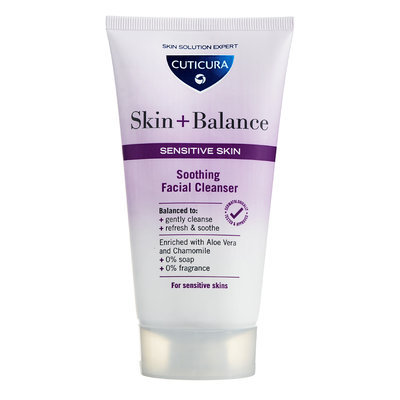Cuticura - Skin + Balance Soothing Facial Cleanser (Sensitive Skin) 150ml