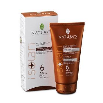Natures NATURE'S - Sun Cream Face & Body SPF 6 150ml